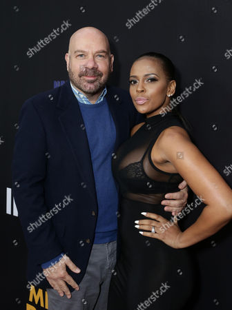 """Jason Stuart and Sundy Carter are seen at """"Meet the Blacks"""" Premiere at the ArcLight Hollywood, in Los Angeles"""