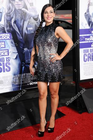 """Carla Ortiz arrives at the LA Premiere of """"Our Brand is Crisis"""" held at the TCL Chinese Theatre, in Los Angeles"""