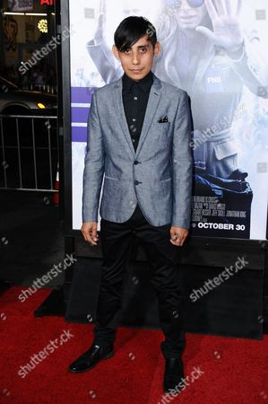 "Luis Chavez arrives at the LA Premiere of ""Our Brand is Crisis"" held at the TCL Chinese Theatre, in Los Angeles"