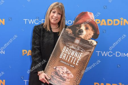 Stock Picture of Sheila G. Mains arrives at the Los Angeles Premiere of Paddington at the TCL Chinese Theatre, in Los Angeles
