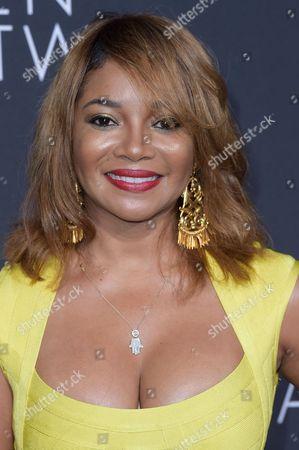"Tamala Jones attends the LA Premiere of ""Queen of Katwe"" held at the El Capitan Theatre, in Los Angeles"