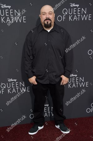 "Anthony Campos attends the LA Premiere of ""Queen of Katwe"" held at the El Capitan Theatre, in Los Angeles"