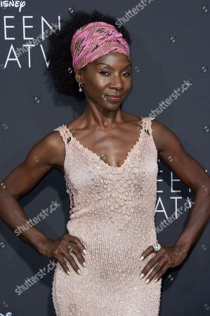 "Jeryl Prescott attends the LA Premiere of ""Queen of Katwe"" held at the El Capitan Theatre, in Los Angeles"