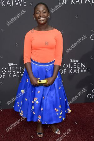 """Editorial picture of LA Premiere of """"Queen of Katwe"""" - Arrivals, Los Angeles, USA - 20 Sep 2016"""
