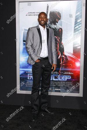 "Editorial picture of LA Premiere of ""RoboCop"" - Arrivals, Los Angeles, USA - 10 Feb 2014"