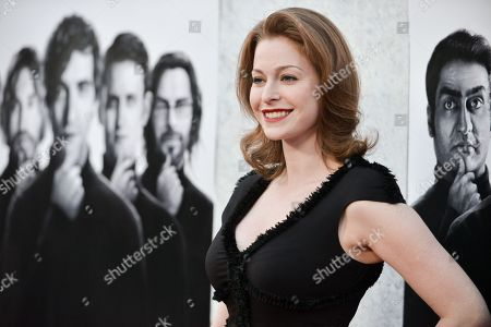 """Esme Bianco arrives at the LA Premiere of """"Silicon Valley"""", in Los Angeles"""