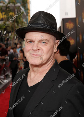 Composer Gustavo Santaolalla attends the Twentieth Century Fox and Reel FX Animation Studios premiere of 'The Book of Life' on Sun, in Los Angeles