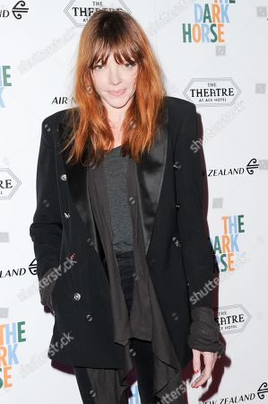 """Nicole LaLiberte attends the LA Premiere of """"The Dark Horse"""" held at The Theatre at Ace Hotel, in Los Angeles"""