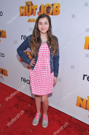 """Editorial picture of LA Premiere of """"The Nut Job"""", Los Angeles, USA - 11 Jan 2014"""