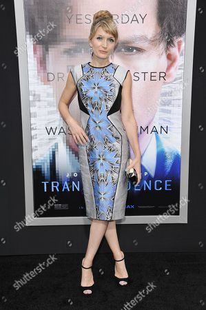 """Stock Image of Annie Marter arrives at the LA Premiere Of """"Transcendence"""", in Los Angeles"""
