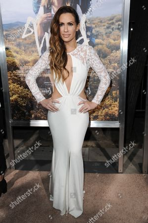 """Kimberly Cole arrives at the LA Premiere Of """"WILD"""", in Beverly Hills, Calif"""