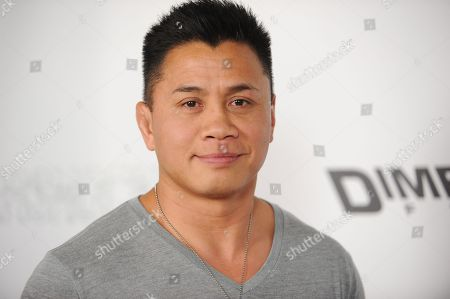 "Cung Le arrives at the LA Premiere of ""Aftershock"" at the Chinese 6 Theatres on in Los Angeles"