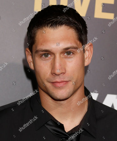 """Talon Smith attends the LA premiere of """"End of Watch"""" at Regal Cinemas L.A. Live, in Los Angeles"""