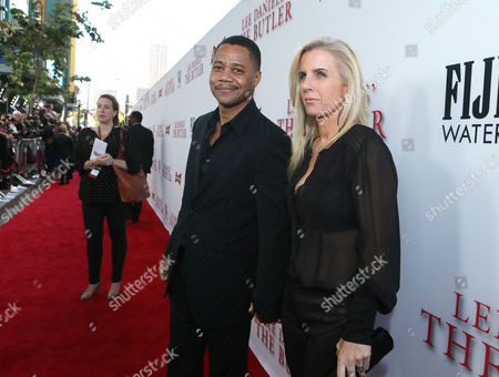 Stock Image of Cuba Gooding Jr and Sara Kapfer at The Los Angeles Premiere of 'The Butler', on in Los Angeles