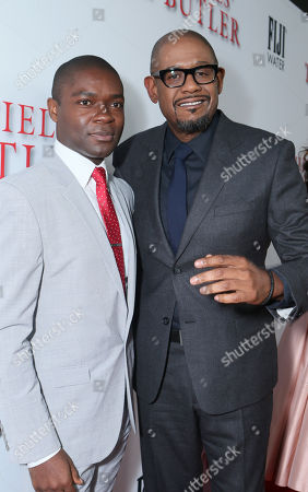 Stephen Rider and Forest Whitaker at The Los Angeles Premiere of 'The Butler', on in Los Angeles