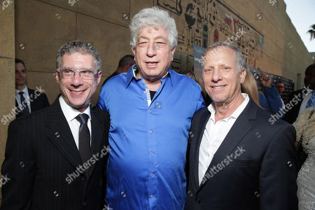 """Director Jeffrey Friedman, executive producer Avi Lerner and director Rob Epstein seen at the premiere of """"Lovelace"""" held at the Egyptian Theatre on in Los Angeles"""