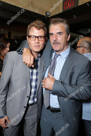 "Stock Picture of Brian Gattas and Chris Noth seen at the premiere of ""Lovelace"" held at the Egyptian Theatre on in Los Angeles"