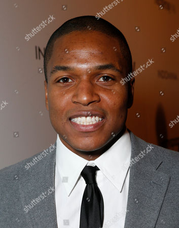 """Stock Picture of Director Sheldon Candis attends the LA premiere of """"Luv"""" at the Pacific Design Center, in West Hollywood, California"""
