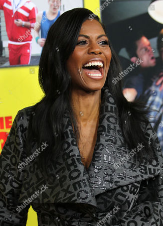 """Stock Image of Omarosa Manigault-Stallworth attends the premiere of """"Movie 43"""" at the TCL Chinese Theatre, in Los Angeles"""