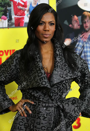 """Omarosa Manigault-Stallworth attends the premiere of """"Movie 43"""" at the TCL Chinese Theatre, in Los Angeles"""