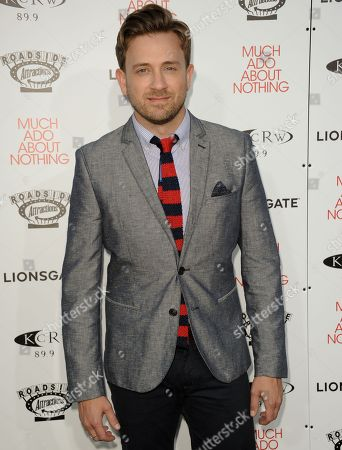 "Tom Lenk arrives at the LA premiere of ""Much Ado About Nothing"" on in Los Angeles"