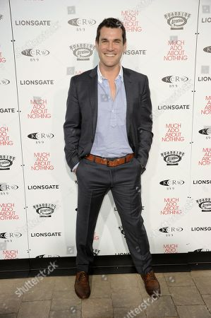 """Sean Maher arrives at the LA premiere of """"Much Ado About Nothing"""" on in Los Angeles"""