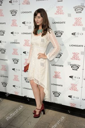 """Jillian Morgese arrives at the LA premiere of """"Much Ado About Nothing"""" on in Los Angeles"""