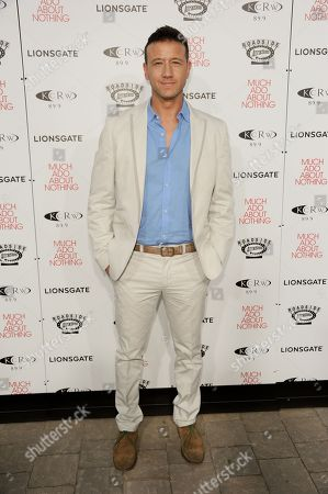 """Joshua Zar arrives at the LA premiere of """"Much Ado About Nothing"""" on in Los Angeles"""