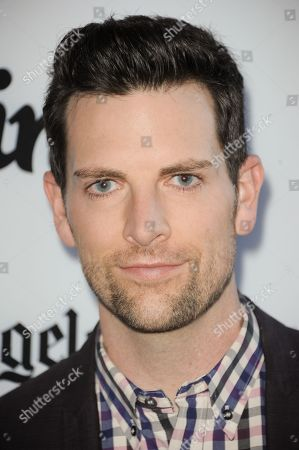 "Chris Mann arrives at the LA premiere of ""Some Girl(s)"" at the Laemmle Noho Theater on in North Hollywood, Calif"