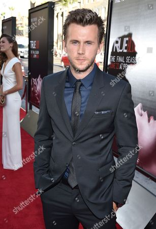 "Brett Lorenzini arrives at the Los Angeles premiere of the 7th and final season of ""True Blood"" at the TCL Chinese Theatre on"