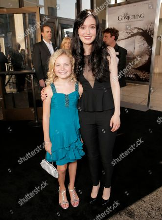 Editorial image of LA Premiere of The Conjuring - Red Carpet, Los Angeles, USA - 15 Jul 2013