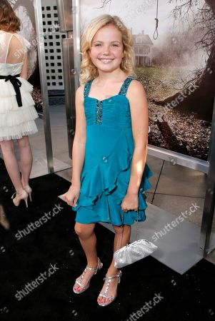 """Kyla Deaver arrives at the LA premiere of """"The Conjuring"""" at the Cinerama Dome, in Los Angeles"""