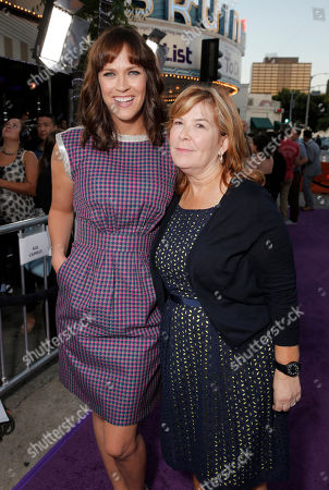 """Director Maggie Carey and CBS Films Co-President Terry Press arrive on the red carpet at the LA Premiere of """"The To Do List"""" at the Regency Bruin Theatre on in Los Angeles"""