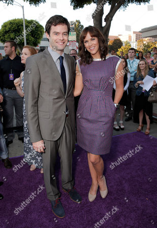 """Bill Hader and Director Maggie Carey arrive on the red carpet at the LA Premiere of """"The To Do List"""" at the Regency Bruin Theatre on in Los Angeles"""