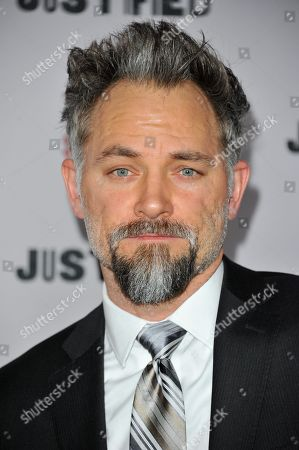 """Editorial picture of LA Premiere Screening of """"Justified"""" - Arrivals, Los Angeles, USA - 6 Jan 2014"""