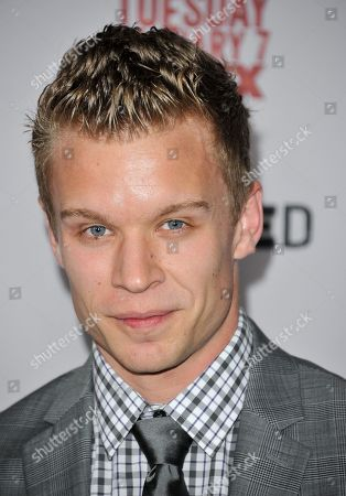 """Stock Photo of Jesse Luken arrives at the LA Premiere Screening of """"Justified"""" at the Directors Guild of America on in Los Angeles"""