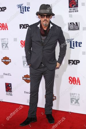 """Tommy Flanagan attends the LA Premiere Screening of """"Sons Of Anarchy"""" at at TCL Chinese Theatre, in Los Angeles"""