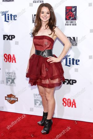 """Editorial picture of LA Premiere Screening of """"Sons Of Anarchy"""" - Arrivals, Los Angeles, USA - 6 Sep 2014"""