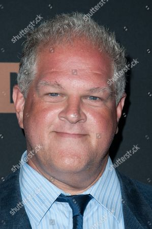 """Stock Picture of Abraham Benrubi arrives at the LA Premiere Screening of """"The Bridge"""", in West Hollywood, Calif"""