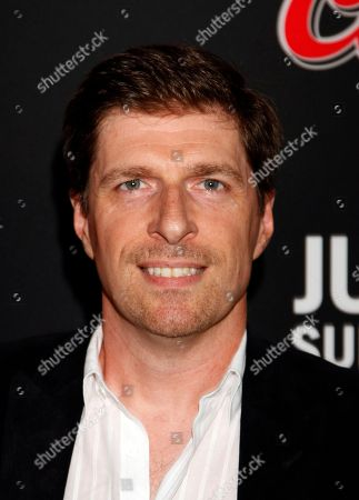 "Chuck Hogan seen at LA Premiere Screening of ""The Strain"" - Arrivals at DGA Theater, in Los Angeles, California"