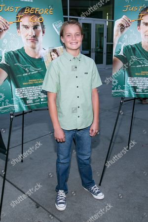 """Tate Berney attends the LA Screening of """"Just Before I Go"""" at ArcLight Hollywood on in Los Angeles"""