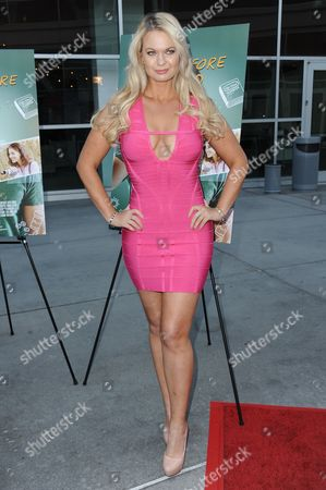 """Angeline-Rose Troy arrives at the LA Screening of """"Just Before I Go"""" held at Arclight Cinemas - Hollywood, in Los Angeles"""