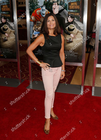 """Producer Michelle Murdocca attends an LA screening of """"Hotel Transylvania"""" at Pacific's The Grove Stadium, in Los Angeles"""