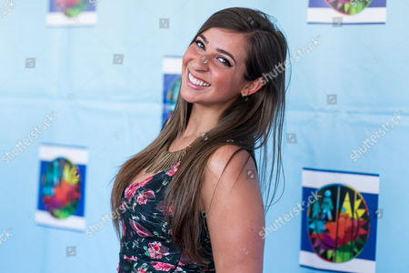 Gabbie Hanna arrives at the Let's Celebrate! District Wide Arts Festival held at The Academy of Motion Pictures Arts & Sciences, in Beverly Hills, Calif