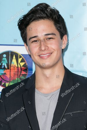 Ivan Dorschner arrives at the Let's Celebrate! District Wide Arts Festival held at The Academy of Motion Pictures Arts & Sciences, in Beverly Hills, Calif