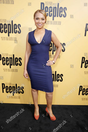 Jordan Hall arrives at the Lionsgate Los Angeles Premiere of Peeples, on Wednesday, May, 8, 2013 in Los Angeles