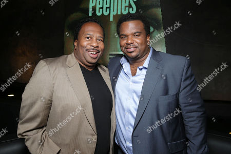 Craig Robinson and Leslie David Baker at the Lionsgate Los Angeles Premiere of Peeples, on Wednesday, May, 8, 2013 in Los Angeles