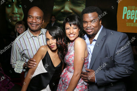 David Alan Grier, Kerry Washington, Writer/director Tina Gordon Chism and Craig Robinson at the Lionsgate Los Angeles Premiere of Peeples, on Wednesday, May, 8, 2013 in Los Angeles