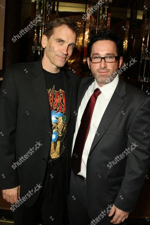 NOVEMBER 06: Bill Moseley and Director Darren Lynn Bousman at Lionsgate Premiere of 'Repo! The Genetic Opera' on at Planet Hollywood Resort & Casino, NV