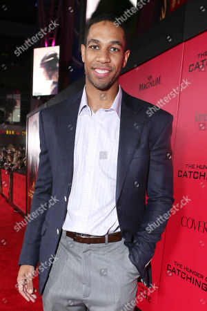 Stock Image of Xavier Henry seen at Lionsgate's 'The Hunger Games: Catching Fire' Los Angeles Premiere, on Monday, Nov, 18, 2013 in Los Angeles